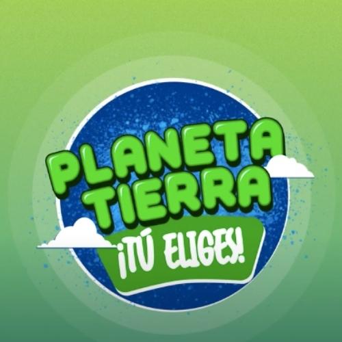 Logo Planeta Tierra ¡Tú Eliges!